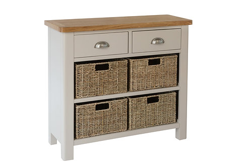 Keswick 2 Drawer 4 Basket Unit