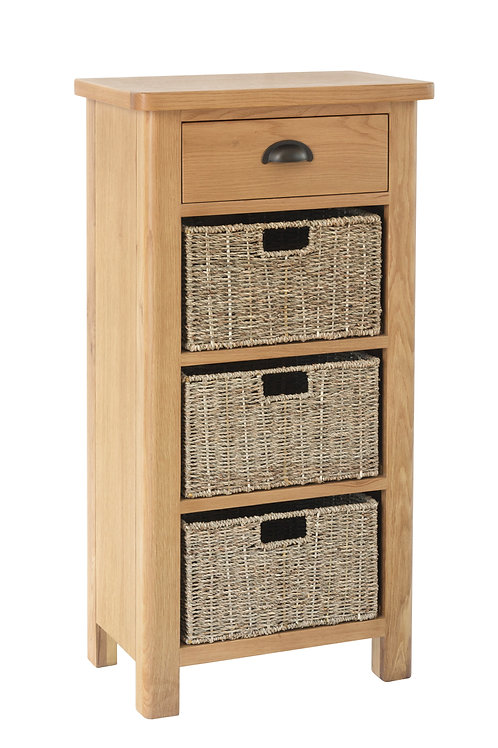 Kendal 1 Drawer 3 Basket Unit