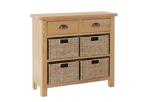 Kendal 2 Drawer 4 Basket Unit