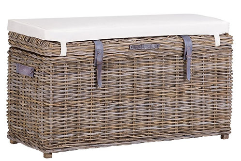 Lomond Rectangular Trunk Bench With Cushion