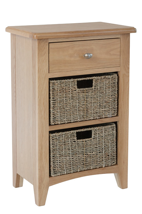 Ambleside 1 Drawer 2 Basket Unit