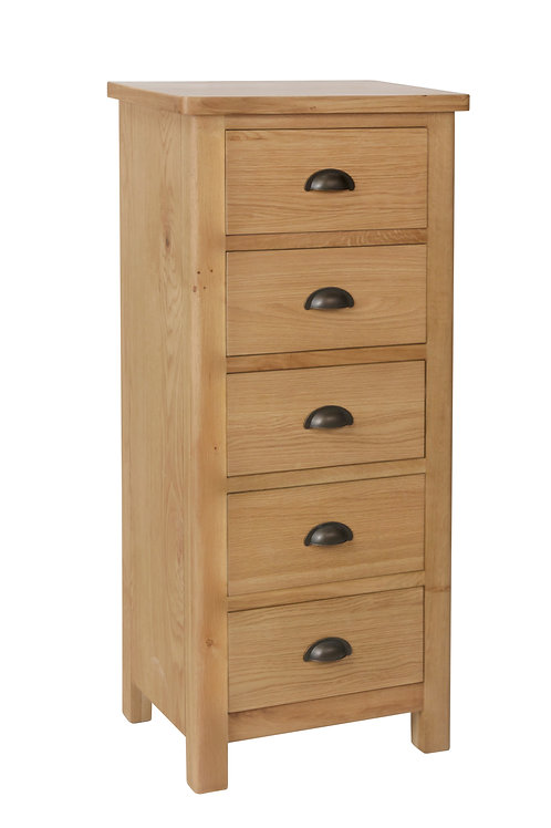 Kendal 5 Drawer Narrow Chest