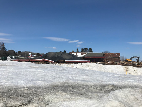 Contractors Resume Work on $50 Million Caribou Community School