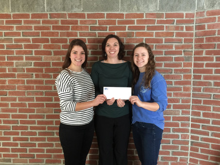 CHS NHS Receives Donation for The Outreach Program: End Hunger