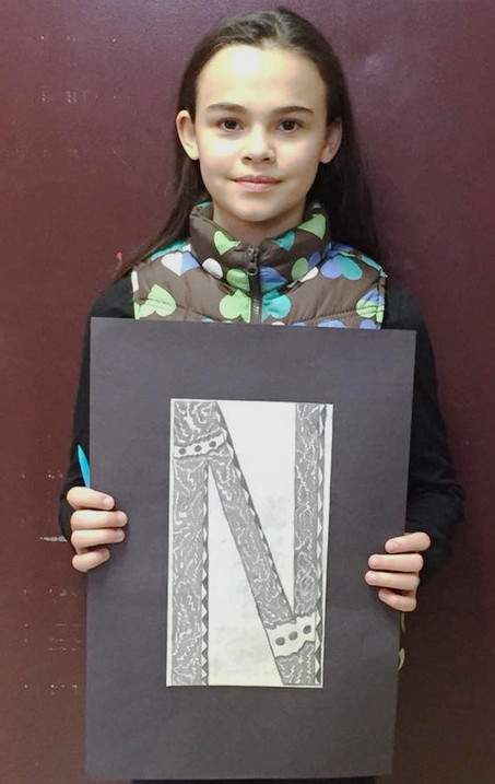 CMS Student's Artwork to be Displayed in Augusta
