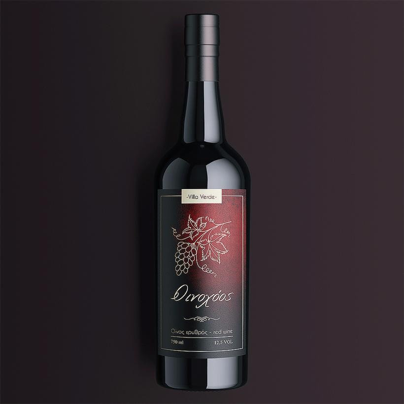 Villa Verde Red Wine
