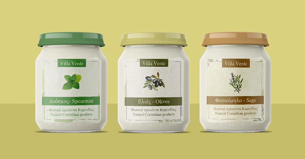 Villa Verde labels