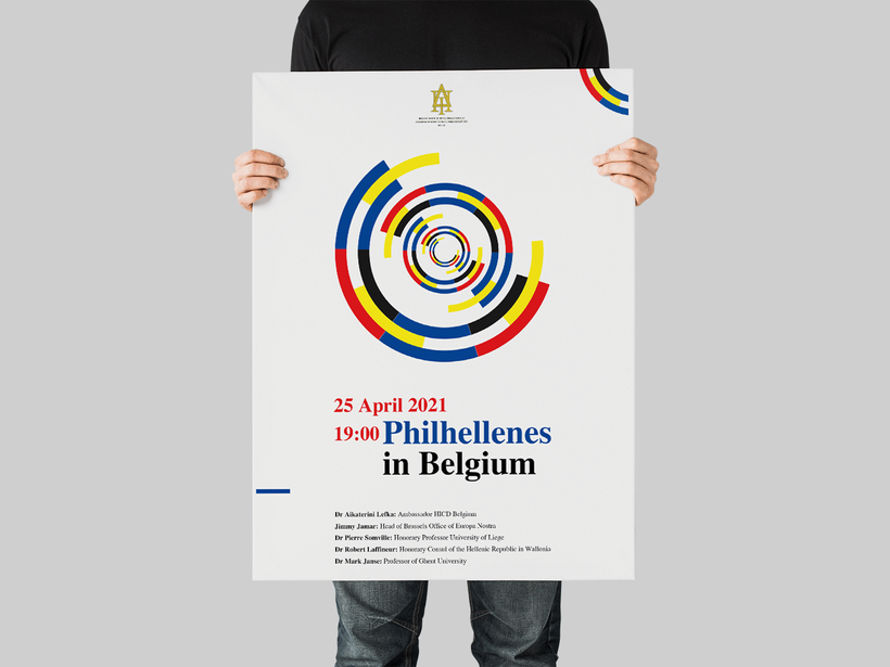 Philhellenes in Belgium