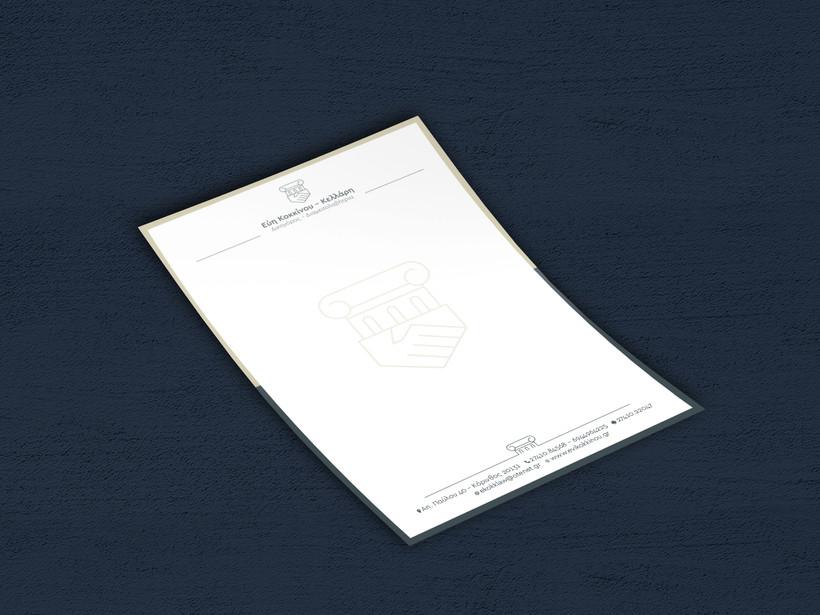 Lawyer letterhead