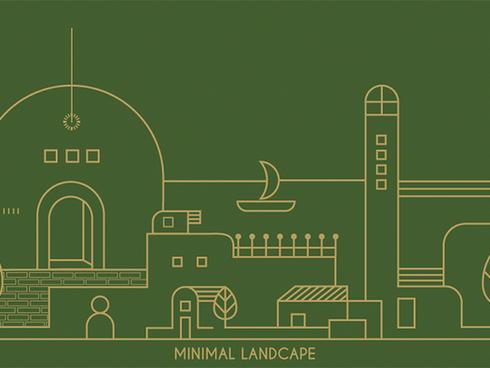 Minimal Landscape - personal project