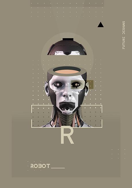 Robot Poster Design