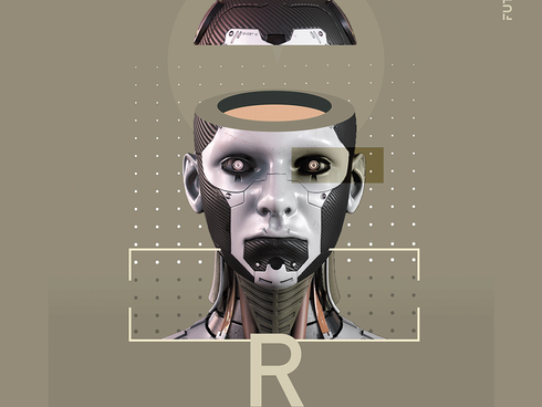Robot Poster Design - personal project