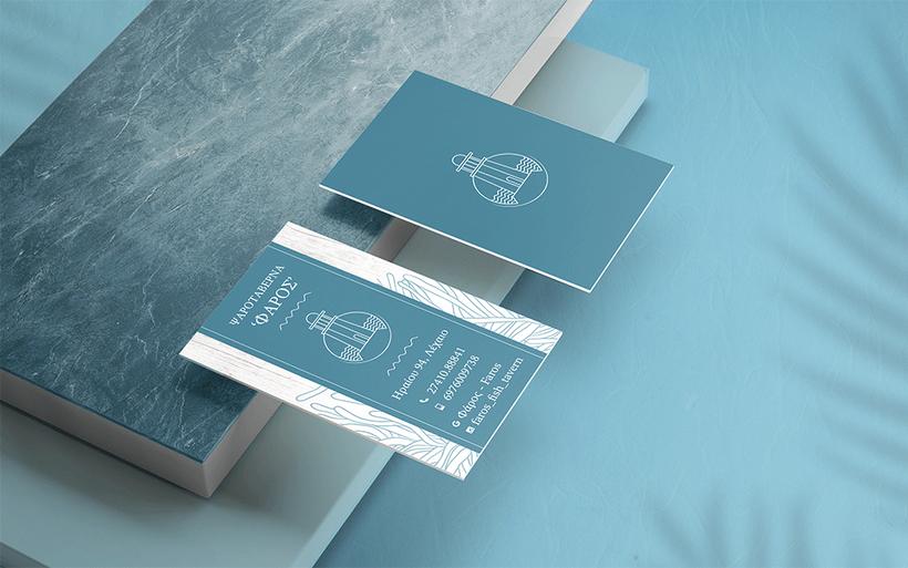 Faros business card