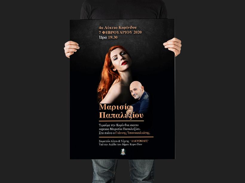 Marisia Papalexiou - mezzo Soprano poster
