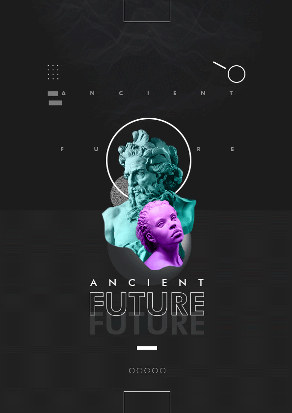 Ancient Future Poster Design