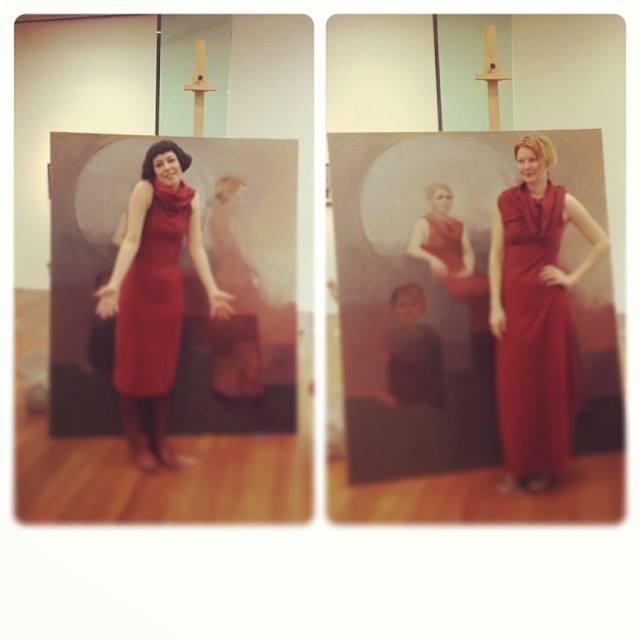 Artist and Art Model