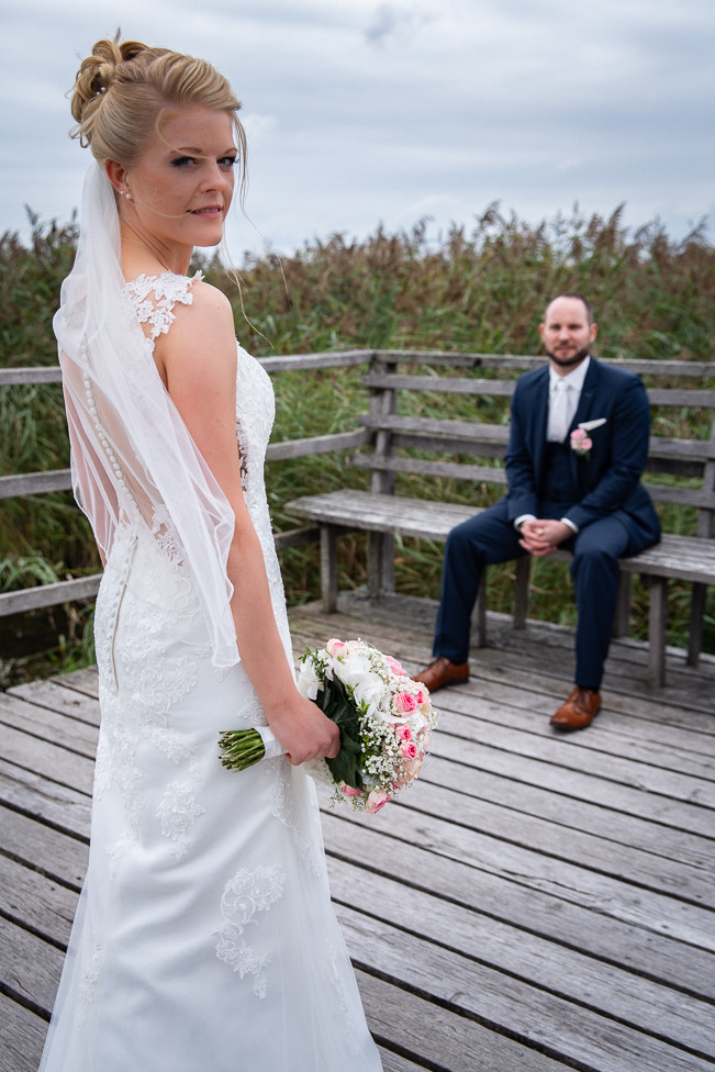 Brautpaarshooting Riedlingen | Hochzeitsfotograf Daniel Jones von der Agentur albhochzeit