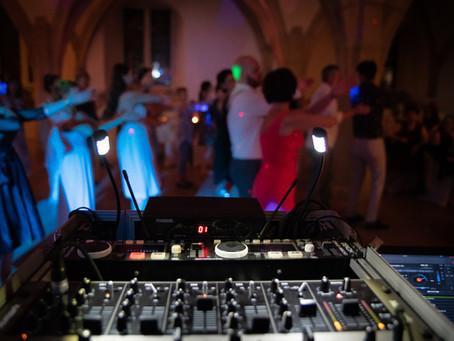 Hochzeits DJ im Einsatz im Residenz Schloss Bad Urach