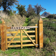 Entrance To Mass Path In Lacken