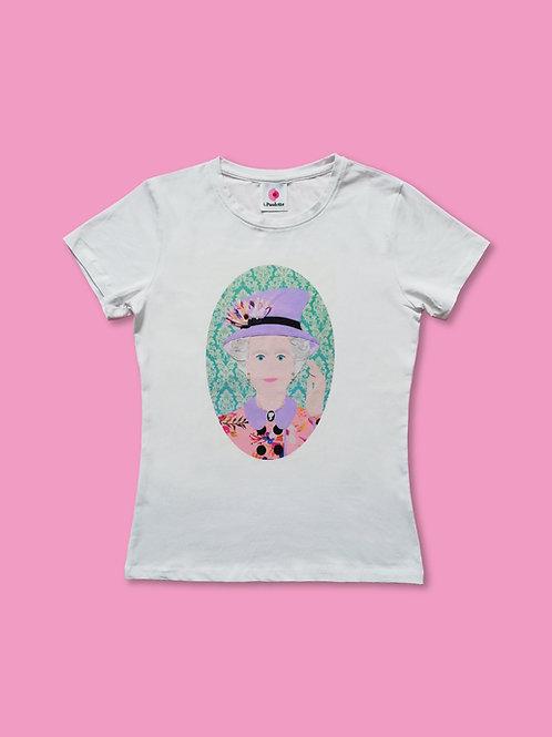T-shirt Regina Elisabetta
