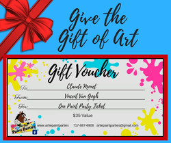 Gift Vouchers make perfect