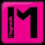 Logo Magnetik Communication - enseigne et signaletique