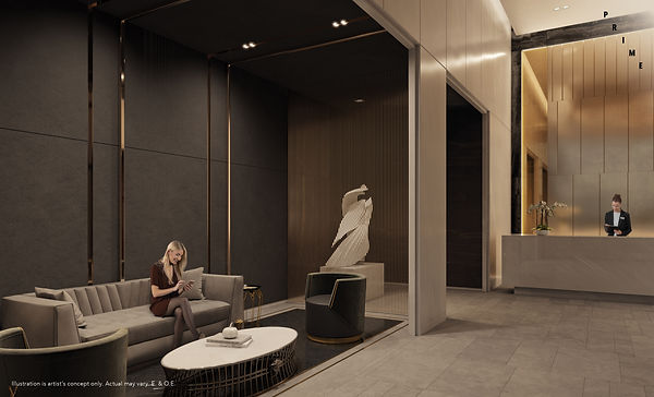 PRIME Condos - Lobby Funished with Versa