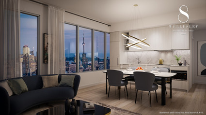 8 Wellesley Suite Interior -Enlightened
