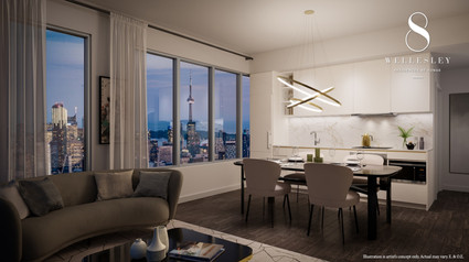 8 Wellesley Suite Interior -Empowered Pa