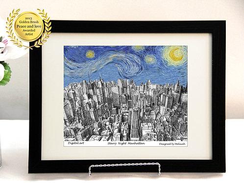Panorama of New York