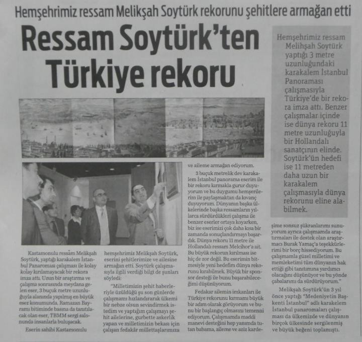 turkiye rekoru Sozcu gazetesi