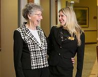 Home Care Services, Caregiver caring for seniors.