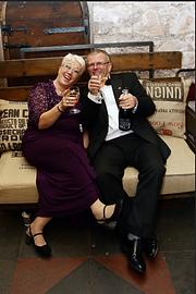 vintage industrial wedding chair