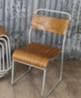 Industrial Vintage Wedding Chair Hire Devon