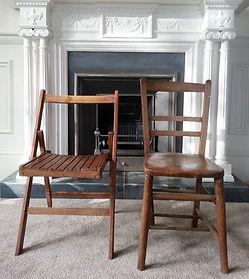 19th Century Wedding Chair Hire Devon