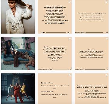 Fleur East Fearless Album IG Profile 01.