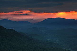 Fairview, NC by Jonathan Jackson - Fine art photography for sale on www.mountainmultimedia.net
