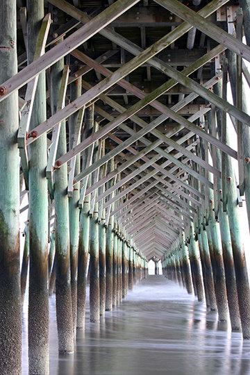 """Pier Cathedral"" Folly Beach, SC"