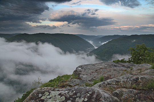 """Grandview"" New River Gorge N.P., WV"
