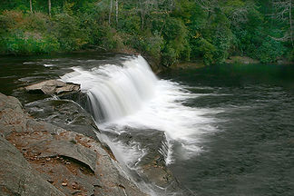 Hooker Falls, Dupont State Park, NC by Jonathan Jackson - Fine art photography for sale on www.mountainmultimedia.net