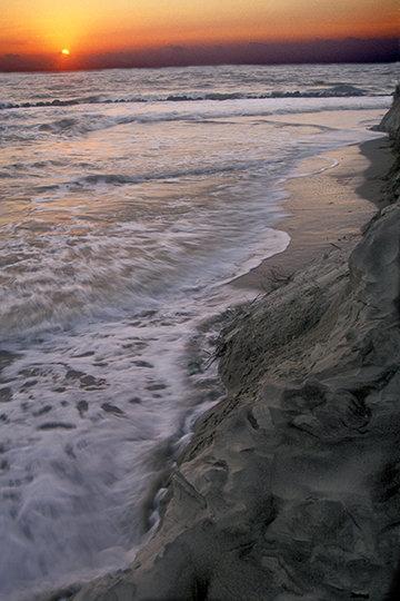 Sunrise at Folly Beach, SC