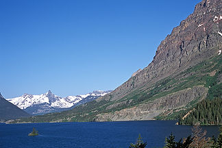 Wild Goose Island, Glacier National Park, by Jonathan Jackson - Fine art photography for sale on www.mountainmultimedia.net