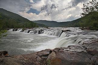 Sandstone Falls, WV by Jonathan Jackson - Fine art photography for sale on www.mountainmultimedia.net