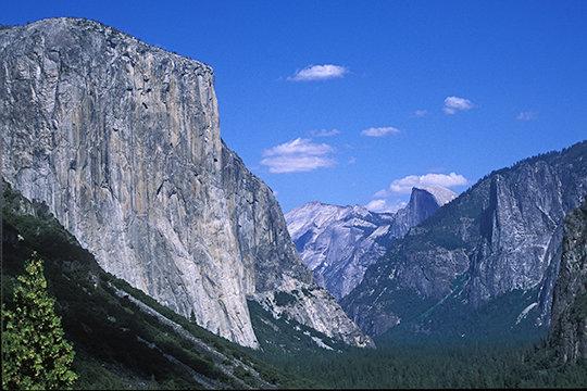 Halfdome & El Capitan, Yosemite NP