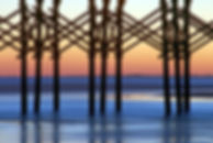 Folly Beach Pier Post Abstract, SC by Jonathan Jackson - Fine art photography for sale on www.mountainmultimedia.net