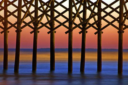 Folly Pier Post Abstract #2, SC