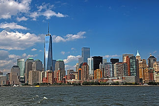 Manhattan Skyline, NY by Jonathan Jackson - Fine art photography for sale on www.mountainmultimedia.net