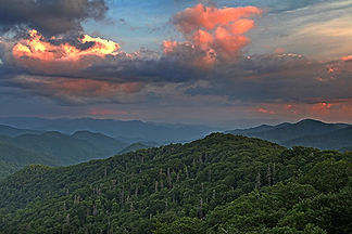 Newfound Gap, Smokey Mountain National Park, NC by Jonathan Jackson - Fine art photography for sale on www.mountainmultimedia.net