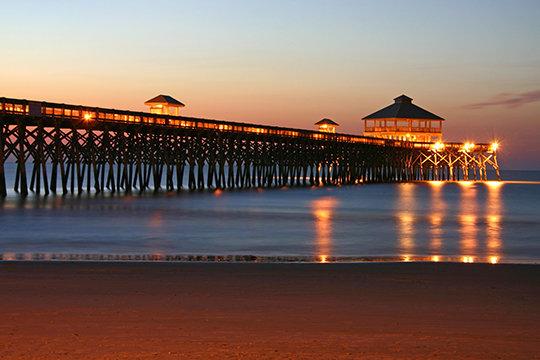 Folly Beach Pier, SC