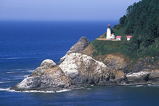 Heceta Head Lighthouse, OR by Jonathan Jackson - Fine art photography for sale on www.mountainmultimedia.net